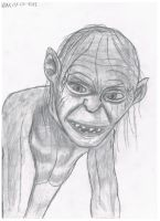 smeagol or gollum by willem-the-drawer