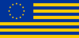 Alternate European Union Flag by Alternateflags