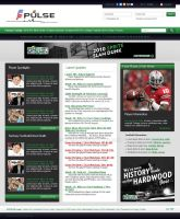 Football blog layout by LETSOC