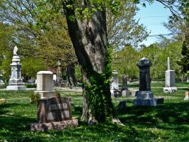 Cemetary I by Baq-Stock