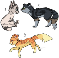 Cat adoptables 3 | OTA | CLOSED by DaisiesAdopts