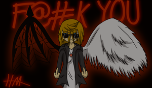 F--K YOU by DarkRoxas1