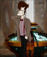 Matt Smith Dr Who toon by dtdstudio