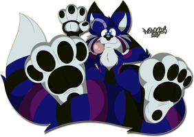 Dusky Paws by Marquis2007