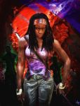 Michonne TWD by anfotero