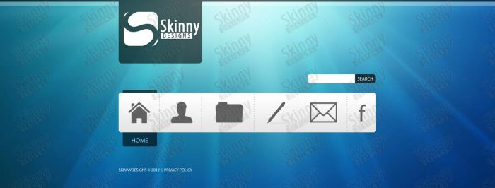 SkinnyDesigns's webdesign #2 by SkinnyDesigns