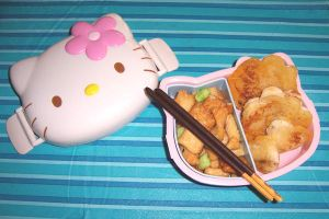 my first bento by LaFoi