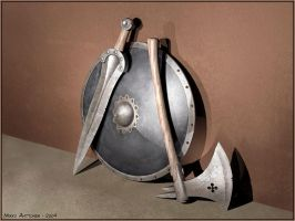 Old weapons by Astalo