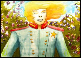 Little Prince Original Artwork (back cover) by WhipperSnapper1014