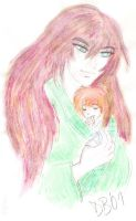 Shinta and Daddy by Kenshins-Soul