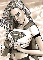 supergirl by hamdiggy