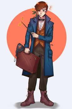 Fantastic beasts and dis boii by Divalina