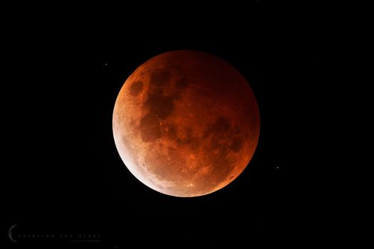 Lunar Eclipse Oct 2014 by CapturingTheNight
