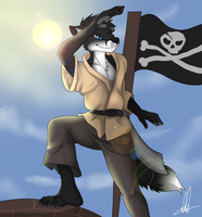 piratefox by delilittle
