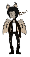 AT OC: Adonis the Egyptian Fruit Bat by MonarchPesticides
