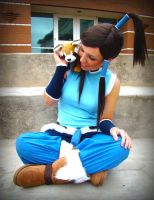 Legend of Korra - Hey there Pabu by iRukiaChan
