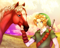 Ocarina of Time by norochan