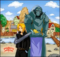old_ Full Metal Alchemist by sbel02