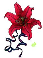 Lilly Tat Colored by Khthonia