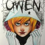 copic spidergwen by FlatsNColors