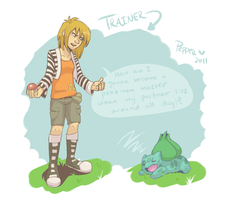 Trainer Pepper by MrsDrPepper