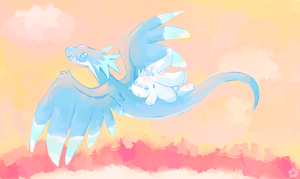 Wright Wyvern Ride by crayon-chewer