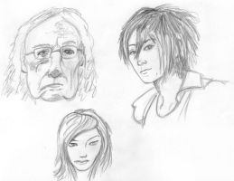 More Facial Studies by NezumiWorks