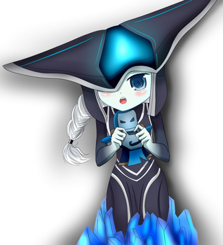 Request: Loli Lissandra LOL Fanart for Zach by AlexLio42