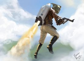 Rocketeer by superpascoal