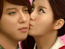 YongSeo Couple PAINT by deAtHwiSH90