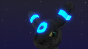 Shiny Umbreon by alewism
