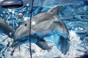 dolphins-detailed by hotabych