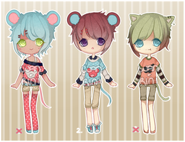 RiniWan Collab Adopts [CLOSED] by WanNyan