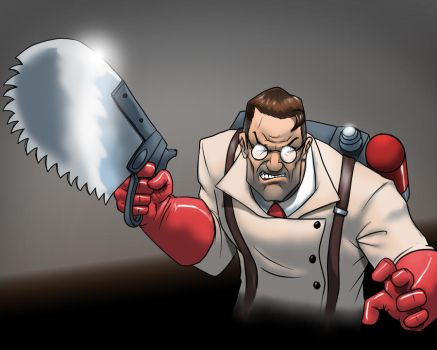 Medic colored by Marauder6272