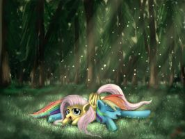 EverFree Forest by Miokomata