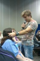 Vic Stroking My Face During Sermon by albertxlailaxx