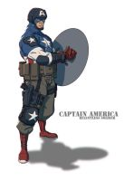 CaptainAmerica by Colorbind