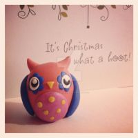 Christmas... What a hoot! by Liluri-Creations