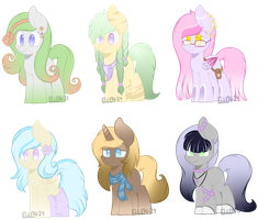 Lowered Price - Pony adopts (Open!) by Ellen-24