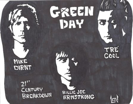 Armstrong, Dirnt and Cool by lenboogie