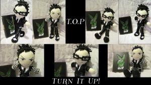 """T.O.P Plushie 2 """"Turn it up"""" by VilleVamp"""
