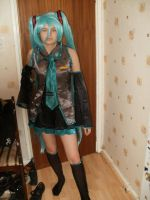 Hatsune miku cosplay 1 by animezfan