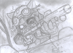 Omega Squad Teemo sketch by siinclaiir