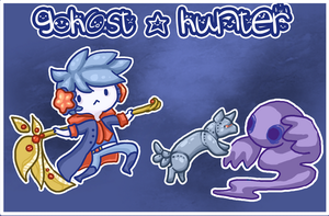 Contest Entry: Ghost Hunter by Sugar-Bells