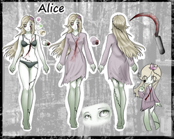 [PC] Alice ref by lovelymeows