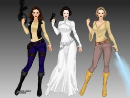 X-Girl Star Wars by msbrit90