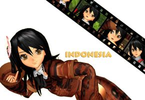 [APH-MMD] Indonesia !! by ChipiChii