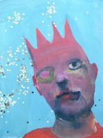 Boy with crown by buris