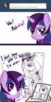 ask Dark Twilight Sparkle #3 by PPDraw