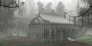 Victorian Greenhouse by shaddam89